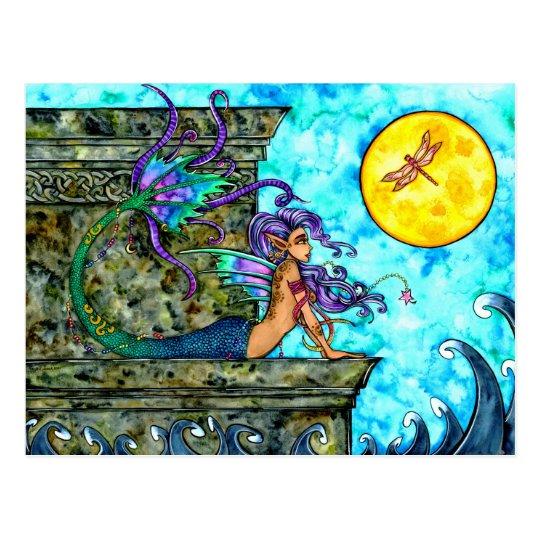 Mermaid Longing Postcard