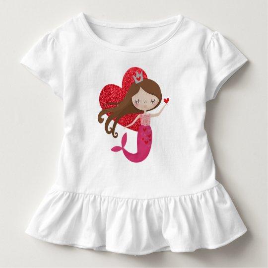 Mermaid love shirt for girls