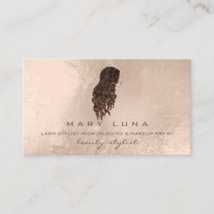 Hairdresser business cards business card printing zazzle uk mermaid makeup artist lashes pearl hairdresser business card colourmoves