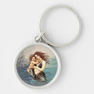Mermaid Mermaids Fantasy Myth Keychain