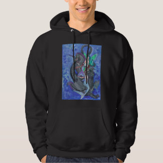Mermaid Merman Unicorn Wing Fairy Dragon Seahorse Hoodie