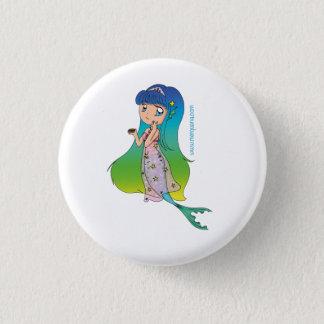 Mermaid Merquana Button