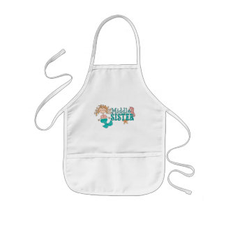 Mermaid Middle Sister Apron Aprons
