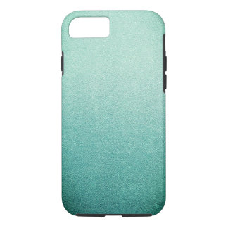 Mermaid Mint Green Glitter Sand Ombre iPhone 7 Case