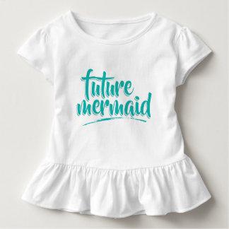 Mermaid Mom And Daughter (Daughter) Toddler T-Shirt