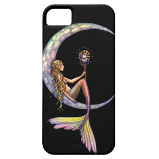 Mermaid Moon Fantasy Art iPhone 5 Case