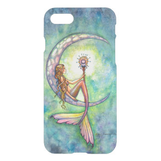 Mermaid Moon Fantasy Art iPhone 7 Case