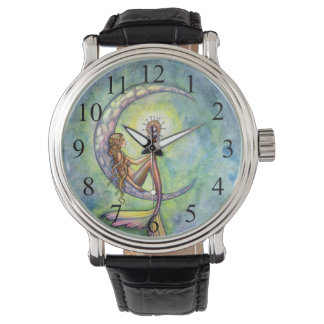 Mermaid Moon Fantasy Art Watch