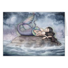 Mermaid Mother and Baby Card by Molly Harrison