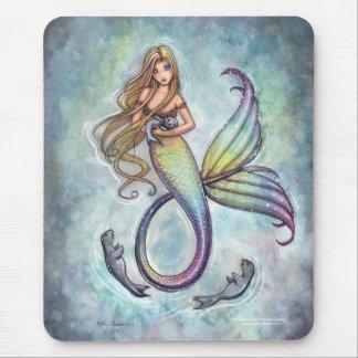 Mermaid Mousepad by Molly Harrison