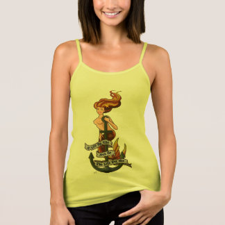 mermaid_msorange_yellowshirt tank top
