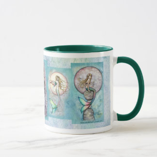 Mermaid Mug by Molly Harrison