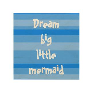 Mermaid nursery wall decor, beach wall decor