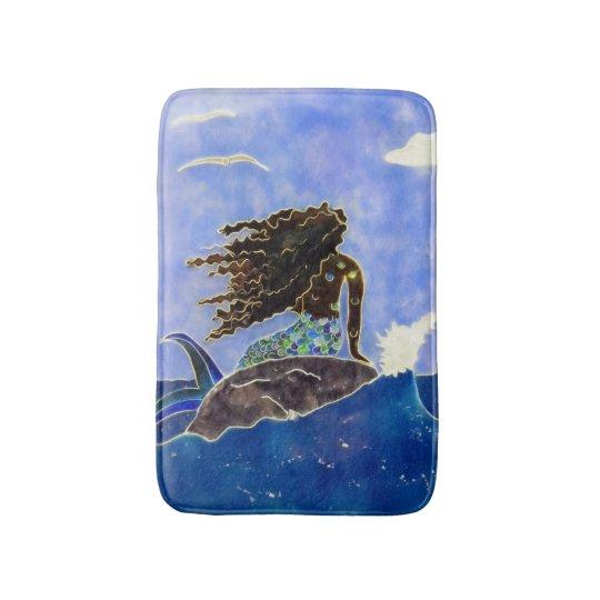 Mermaid & Ocean Bath Mat