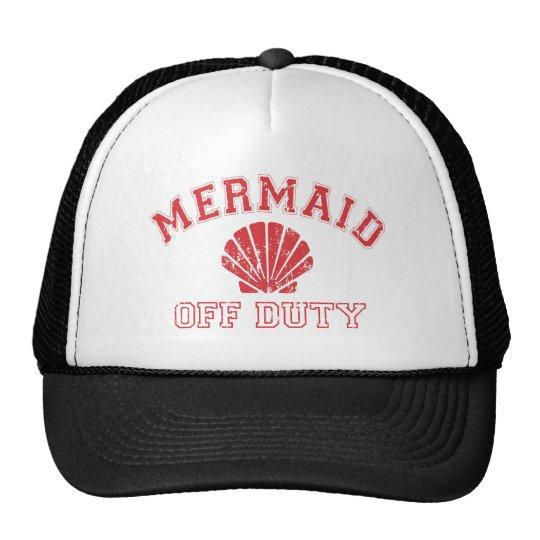 Mermaid Off Duty Distressed Vintage Cap