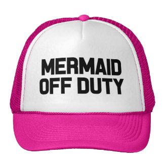 Mermaid off duty funny women's hat