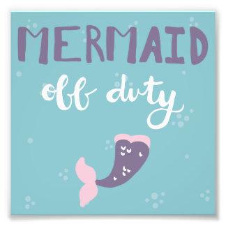 Mermaid Off Duty Photograph
