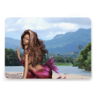 Mermaid on a Sandbar Invitations