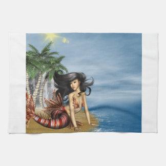 Mermaid on Beach Towel