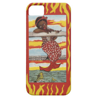 Mermaid on dock phone case iPhone 5 cover