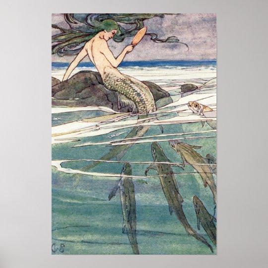 Mermaid on Marooners' Rock by Alice B. Woodward