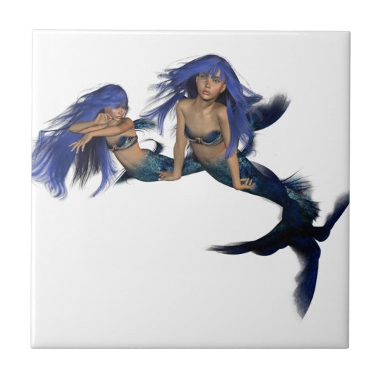 Mermaid Pair Tile