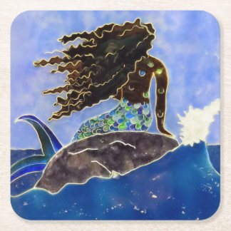 Mermaid Paper Coaster