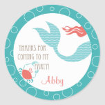 Mermaid Party  |  Favour Sticker