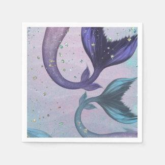 Mermaid Party Napkins Paper Serviettes