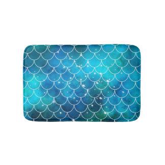 Mermaid Pattern Bath Mat