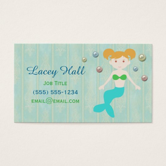 Mermaid Pearls Business Card