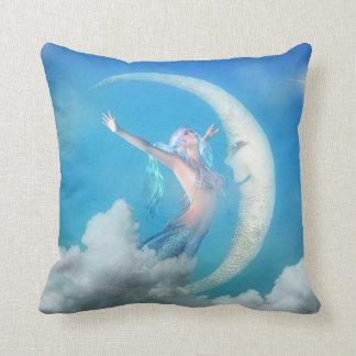 Mermaid Pillow - Under the Moon Mermaid Pillows