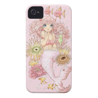 Mermaid (pink) iPhone 4 Case-Mate case