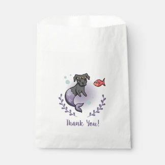 Mermaid Pit Bull 2 Thank You Favour Bags