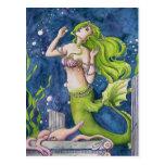 Mermaid Post Card