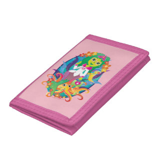 Mermaid Princess Doctor Wallet! Tri-fold Wallets