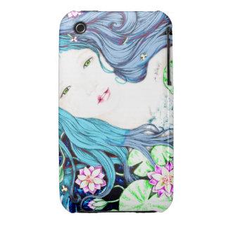 Mermaid Princess in Blue Hues iPhone 3 Case