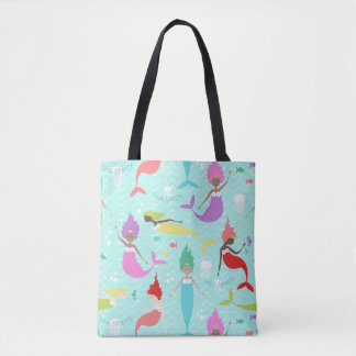 Mermaid Princess Tote
