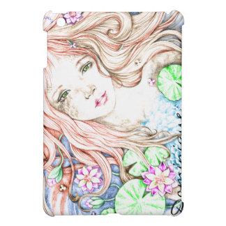 Mermaid Princess Watercolor Cover For The iPad Mini