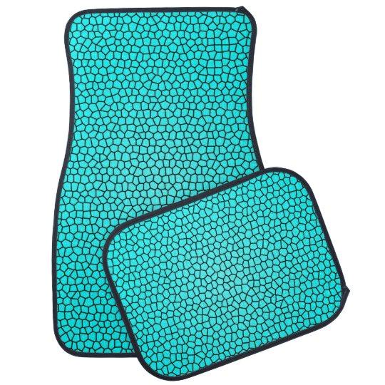Mermaid Print Design Car Mats