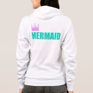 Mermaid Queen Sweat Shirt Hoodie Yoga 4 Mermaids