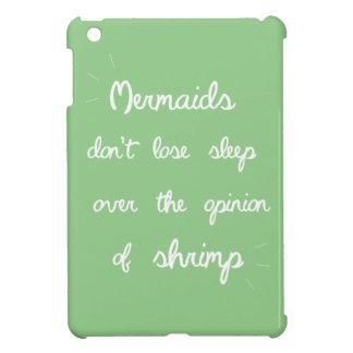 Mermaid Quote iPad Mini Covers