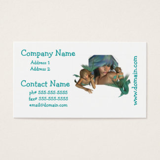 Mermaid Reflections Business Cards