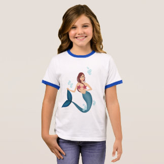 Mermaid Ringer T-Shirt