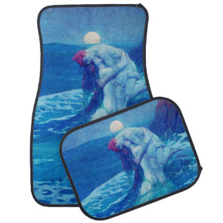 Mermaid & Sailor Car Mats Full Set (set of 4) Floor Mat