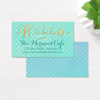 Mermaid Scales Business Card