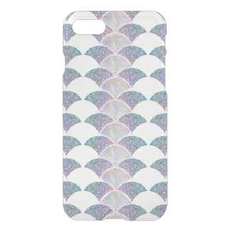 Mermaid scales glitter iridescent iPhone case