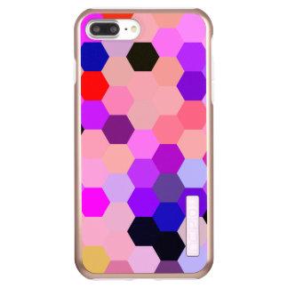 Mermaid Scales Lavender and Bittersweet Octagon Incipio DualPro Shine iPhone 7 Plus Case