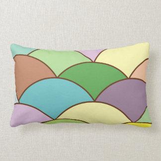 Mermaid Scales Lumbar Pillow