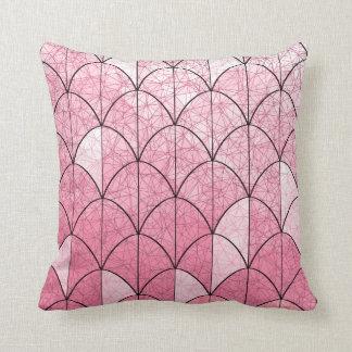 Mermaid Scales. Pink. Cushion